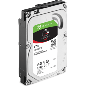 "Seagate IronWolf NAS HDD 3.5"", 4TB, SATA 6Gb/s, ST4000VN008"