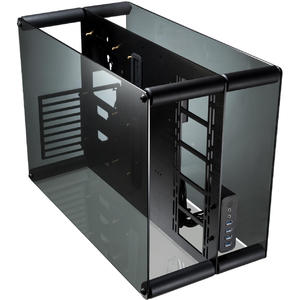 RAIJINTEK PAEAN Aluminium ATX Bench Table/Showcase - Black