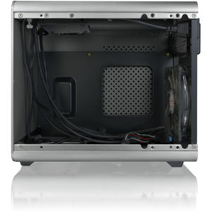 RAIJINTEK METIS Plus Aluminium Mini-ITX Case - Silver Window
