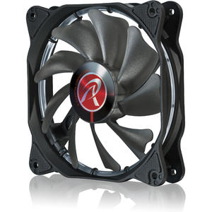 Ventilator RAIJINTEK AURAS 12 Red LED PWM Fan 120mm - 2 Pack
