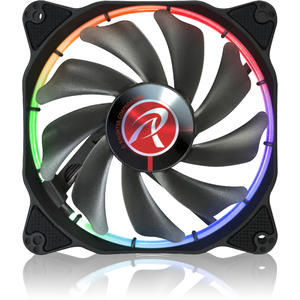 Ventilator RAIJINTEK AURAS 12 RGB LED Fan with Controller 120mm - 2 Pack