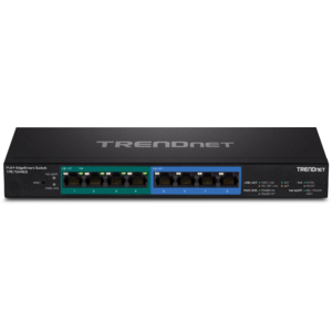 Switch Trendnet 8-Port Gigabit EdgeSmart PoE+ TPE-TG44ES