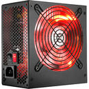 700W, Simplicity Series, RED LED, HPG-700ST-T12S, 80 PLUS