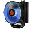 Raijintek Leto Heatpipe CPU Cooler, blue LED - 120mm