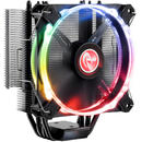 Raijintek Leto Pro CPU Cooler, black, RGB-LED - 120mm