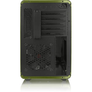 RAIJINTEK STYX Micro-ATX Case - green Window