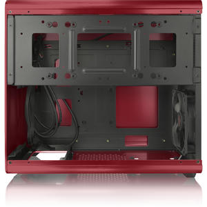 RAIJINTEK STYX Micro-ATX Case - red Window