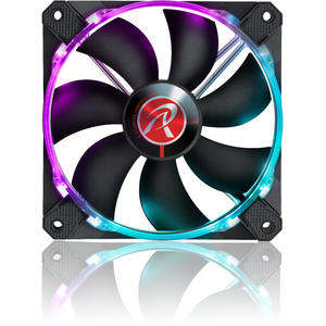 Ventilator Raijintek Macula 12 Rainbow RGB-LED Fan - Set 3 x 120mm