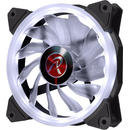 Raijintek IRIS 12 LED Fan, white - 120mm