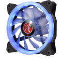 Raijintek IRIS 12 LED Fan, blue - 120mm