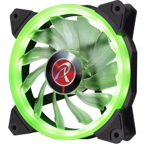 Ventilator Raijintek IRIS 12 LED Fan, green - 120mm