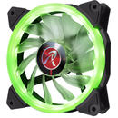 Raijintek IRIS 12 LED Fan, green - 120mm