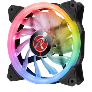 Ventilator Raijintek IRIS 12 Rainbow RGB LED Fan, RGB - 120mm