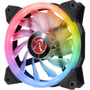 Raijintek IRIS 12 Rainbow RGB LED Fan, 3pcs set including Controller - 120mm