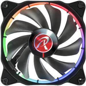 Ventilator Raijintek Auras 14 RGB LED Fan, 3pcs Set - 140mm