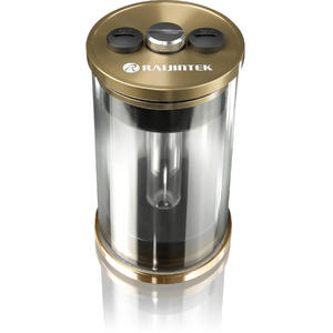 RAIJINTEK RAI-R10 Watercooling Reservoir, 100mm - gold