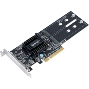 Synology Dual M.2 SSD PCIe 2.0 x8 adapter card M2D18