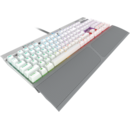 Corsair K70 RGB MK.2 SE Mechanical Gaming Keyboard - Cherry MX Speed, Silver, NA