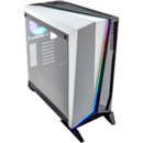 Carbide Series SPEC-OMEGA RGB Mid-Tower Tempered Glass Gaming Case — Alb