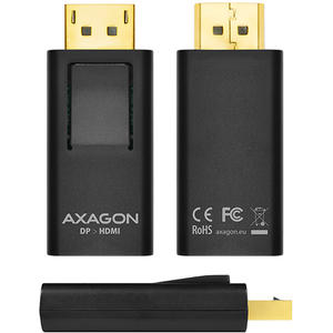 AXAGON DisplayPort -> HDMI Mini Adapter, FullHD