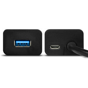 Hub AXAGON 4x USB3.0 Charging Hub 1.2m Cable, MicroUSB Charging