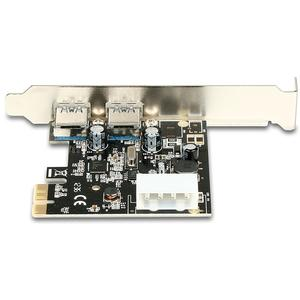 AXAGON PCI-Express Adapter 2x USB3.0 Renesas + LP