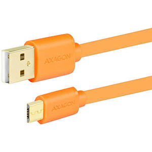 AXAGON USB 2.0 <> Micro USB, 2 m, Orange
