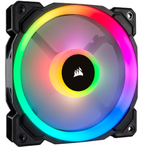 Ventilator Corsair LL120 RGB LED Static Pressure 120 mm, PWM
