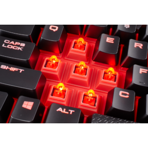Corsair K68 Mechanical Gaming Keyboard Red LED CHERRY® MX Red