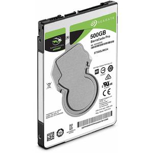 Harddisk Notebook Seagate BarraCuda Pro, 500 GB, 7200 RPM, SATA 6Gb/s, ST500LM034