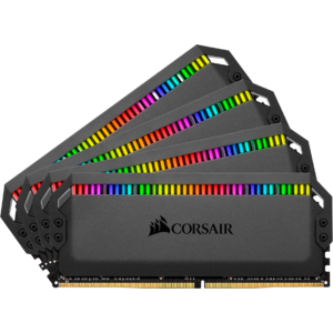 Corsair Dominator Platinum RGB 32GB, DDR4, 3600MHz, CL18, 4x8GB, 1.35V