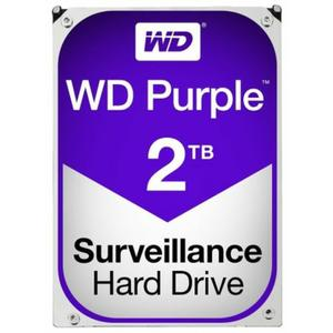 Western Digital HDD WD Purple 3.5 2TB SATA3 64MB 5400rpm