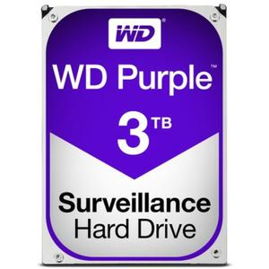 Western Digital Purple 3TB, 5400RPM, 64MB Cache, SATA III