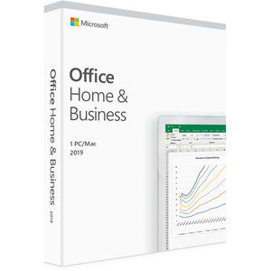 Microsoft Office Home and Business 2019, Engleza, pentru Windows/Mac