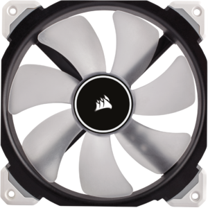 Ventilator Corsair ML140 PRO LED White 140mm PWM Premium Magnetic Levitation