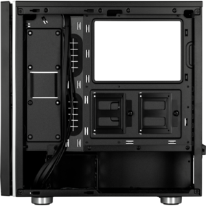 Corsair Carbide SPEC-06 RGB Tempered Glass Case — Negru