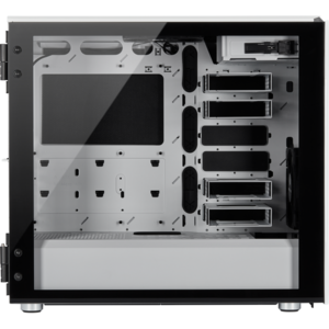 Corsair Carbide Series 678C Low Noise Tempered Glass ATX Case — Alb