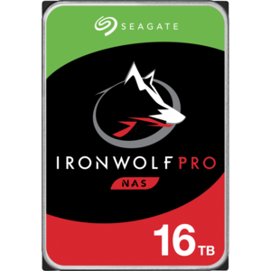 Seagate IronWolfPro, 16TB,  7200RPM, 256MB cache, SATAIII