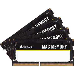 Memorie Notebook Corsair Mac Memory 32GB (4 x 8GB) DDR4 2666MHz C18