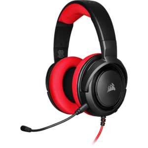 Corsair HS35 Stereo Gaming Headset — Red (EU)