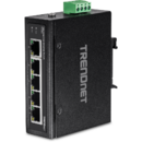 5-Port Industrial Fast Ethernet DIN-Rail Switch