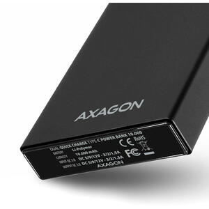 AXAGON Power Bank Li-Pol 10000mAh 3A IN/2A OUT PWB-L10QC