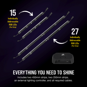 Corsair iCUE LS100 Smart Lighting Strip Starter Kit