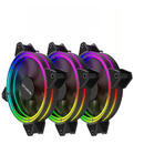 HALO RGB RAINBOW PWM LED3xfan KIT