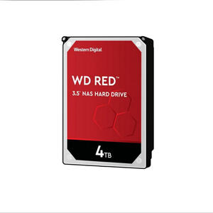 Western Digital Hard disk WD40EFRX Red 4TB, SATA3, 64 MB, NAS, 5400 RPM