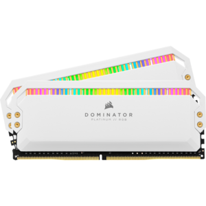 Corsair Dominator Platinum RGB 32GB, (2x16GB),DDR4, 3200MHz, CL16, 1.35 V - Alb