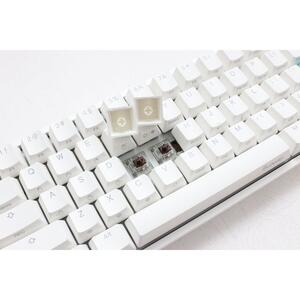 DUCKY One 2 Mini RGB Pure White, Cherry Speed Silver RGB