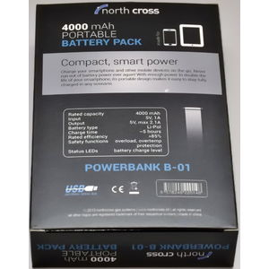 North Cross Powerbank B-01