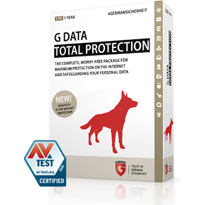 G Data Total Security 2PC ESD