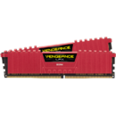 Vengeance LPX 16GB, DDR4, 2400MHz, CL16, 2x8GB, 1.2V - RED